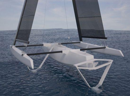 17 Best images about Trimarans on Pinterest | Boat plans ...