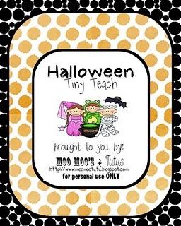 halloween bingo - Preschool Halloween Bingo