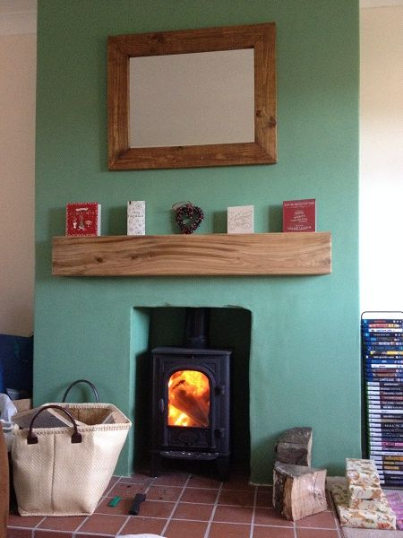 """""""Thanks so much to Mick and the team for our floating mantel shelf, which was custom made to our own dimensions. We couldn't be more pleased with the service which was provided, it was first class. """"any one thinking about ordering should do 5*. Thanks again"""" -Mr Armitage"""