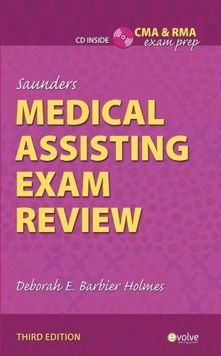 137 best anatomy images on pinterest human body human anatomy and saunders medical assisting exam review by deborah e holmes 2690 publisher saunders fandeluxe Gallery