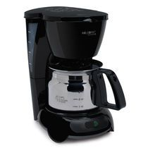 Mr. Coffee® 4 Cup Coffeemaker, Black With Stainless Steel Carafe