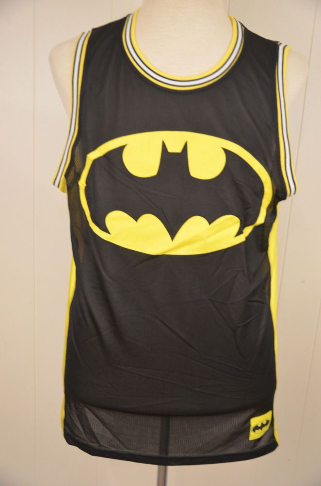 a26c82446e7 Batman DC Comics Tank Top Basketball Jersey Adult Medium (M) missing size  tag #DCComics #TankTop