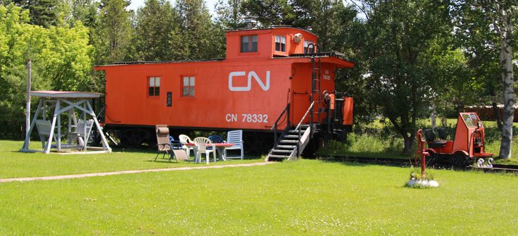 Evidence of the influence of the railway on PEI life is found in many communities. In Wellington, for example, a former caboose has been repurposed as a family home - without a fresh coat of exterior paint.