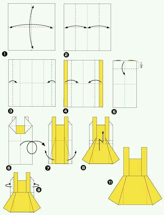 37 best Origami Lessons images on Pinterest   Paper ... - photo#35
