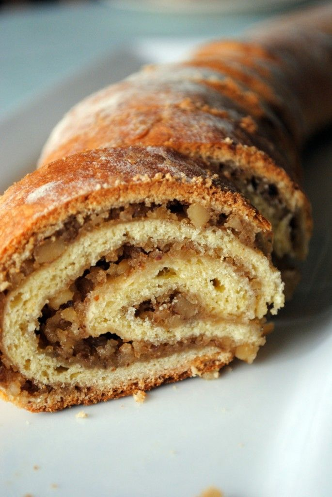 Hungarian Walnut Roll