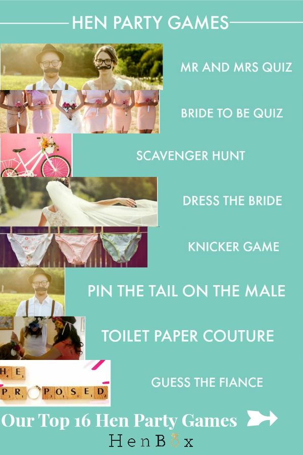 Our Top 16 Hen Party Games. Find out how to play the best hen party games with detailled instructions and lists of required supplies. A step by step guide to the Top 16 Hen Party Games for you to enjoy at your hen do.