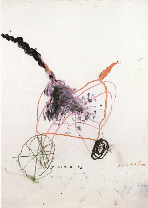 Cy Twombly, Anabasis, 1983.