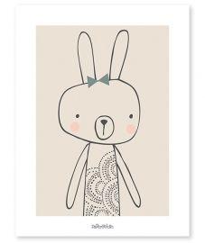 Blanche het konijntje - Poster