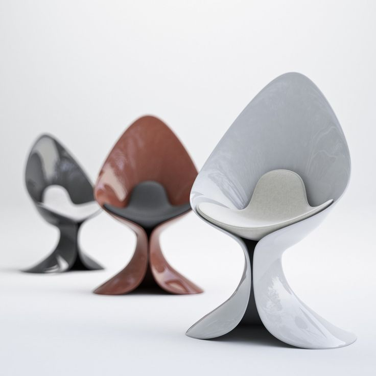 Calla Lily Chair has Dangerous Curves