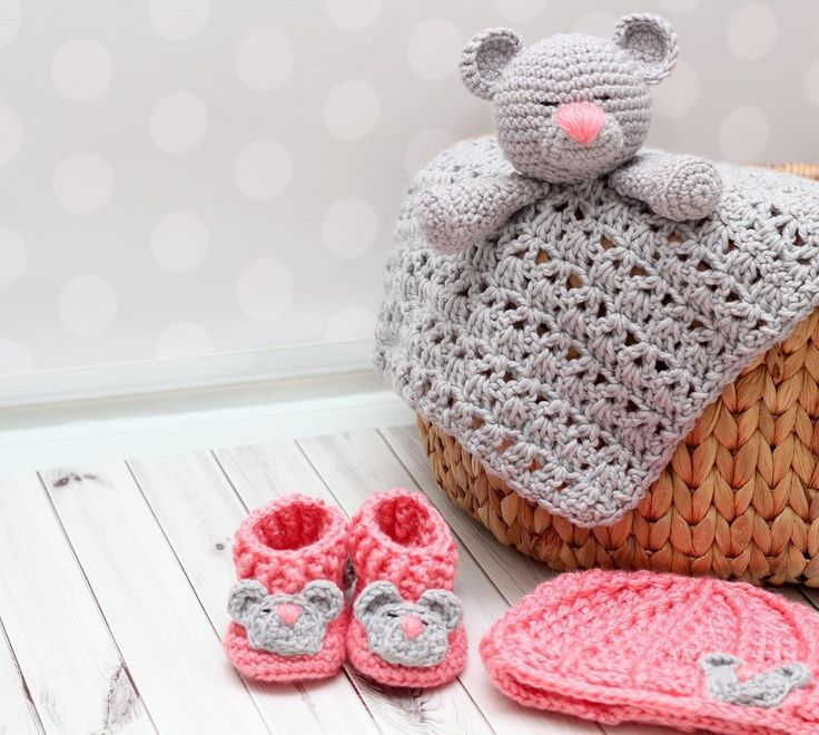 Looking for your next project? You're going to love Baby Bear Gift Set  by designer KarapoozCrochet.