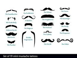 Image result for type of mustaches
