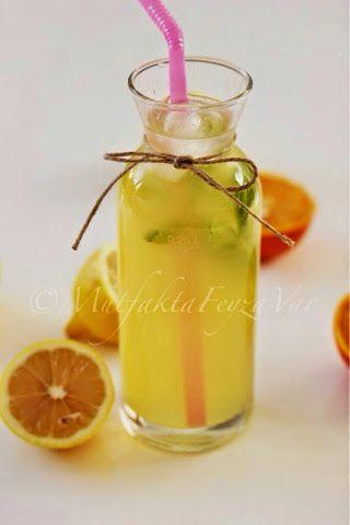 mutfakta Feyza var: Ballı Limonata (Şekersiz)