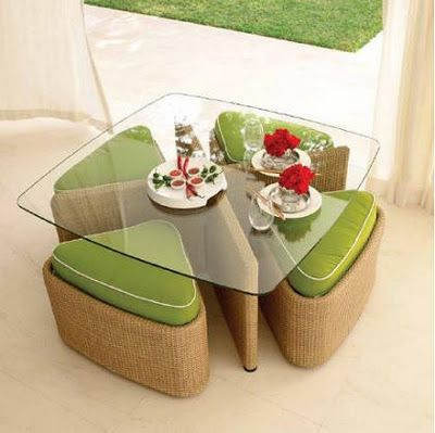 Contemporary Outdoor Furniture by Gloster - the Sushi outdoor collection