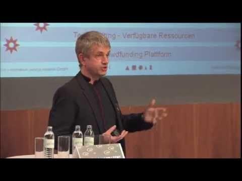 Crowdfunding - Keynote (Dr. Reinhard Willfort)
