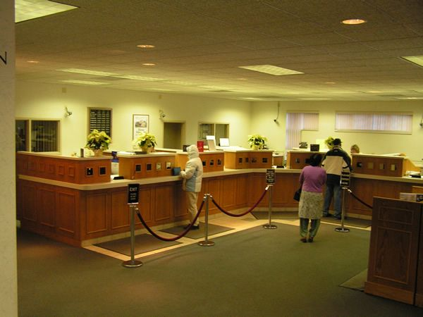 bank+teller+area+remodel   C & S Custom Cabinets Projects- entrance ways, bookshelves ...