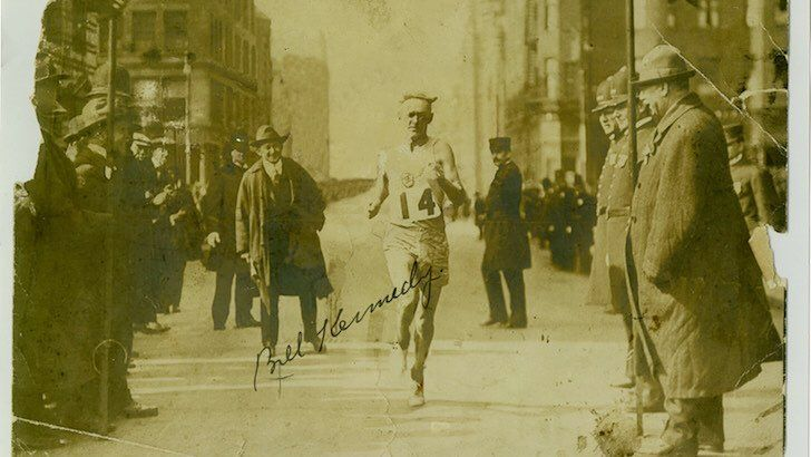 A very special throwback: Bricklayer Bill and the Adventures of an Amateur. A glimpse of the days when sports stars shone closer to earth (book reading this weekend at Doyle's in #JP featuring Irish step-dancing). READ THE FULL ARTICLE AT DIGBOSTON. COM! #Boston #history #BostonMarathon #BostonStrong #books