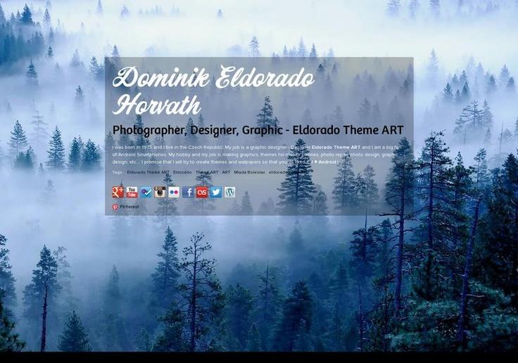 Dominik Eldorado Horvath's page on about.me – http://about.me/eldoradothemeart