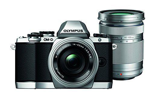 Sale Preis: Olympus OM-D E-M10 kompakte Systemkamera inkl. 14-42 mm Pancake Objektiv und 40-150 mm Objektiv (16,1 Megapixel, 7,6 cm (3 Zoll) Display, WLAN, HDMI, USB 2.0) silber. Gutscheine & Coole Geschenke für Frauen, Männer und Freunde. Kaufen bei http://coolegeschenkideen.de/olympus-om-d-e-m10-kompakte-systemkamera-inkl-14-42-mm-pancake-objektiv-und-40-150-mm-objektiv-161-megapixel-76-cm-3-zoll-display-wlan-hdmi-usb-2-0-silber