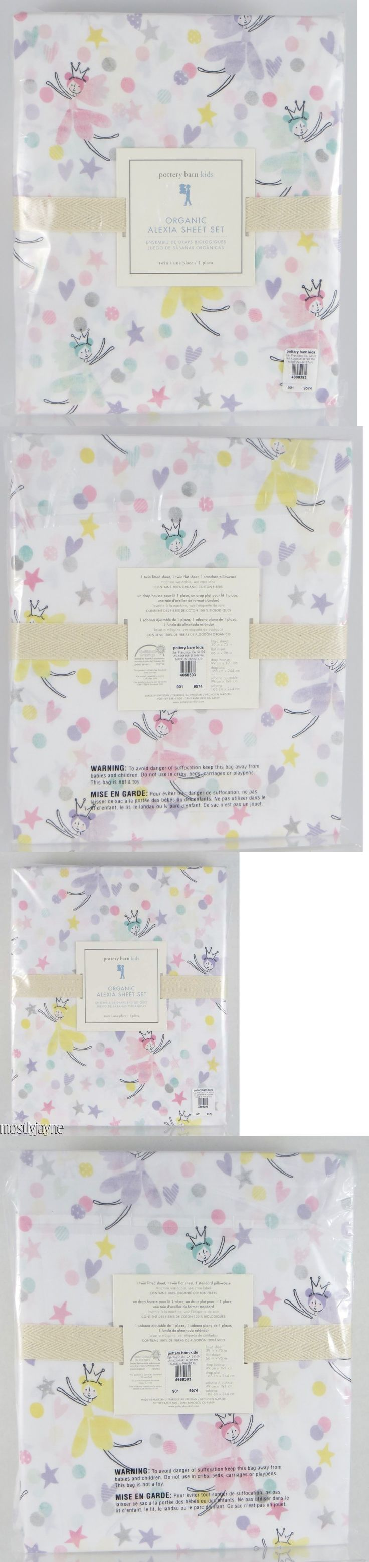 Kids Bedding: Pottery Barn Kids - Alexia Fairy Twin Sheet Set - Princess Nwt -> BUY IT NOW ONLY: $79.99 on eBay!
