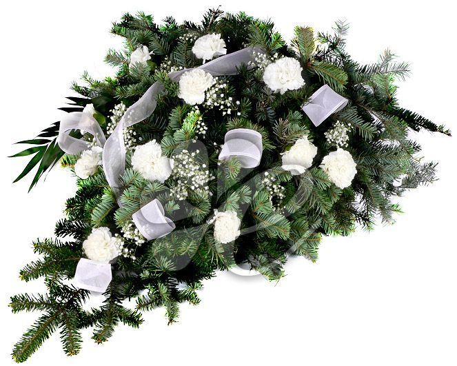 Wiązanka Dotyk Anioła - przesyłka kwiatowa - E-kwiaty