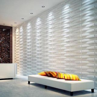Interior Inspiration [Living Room, Hallway, 3D Wall Tiles, Feature Wall, Accent Wall, Modern, Contemporary]
