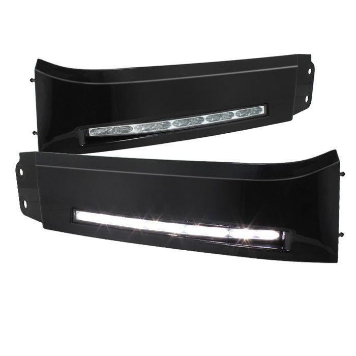 ( Spyder ) Toyota Tundra 07-13 Daytime LED Running Lights ( XSP-X Model Look )wo/switch - Black