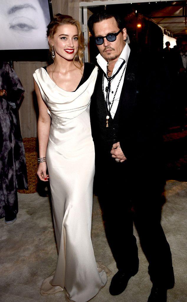 Monochrome Couple from Amber Heard's Best Looks | E! Online