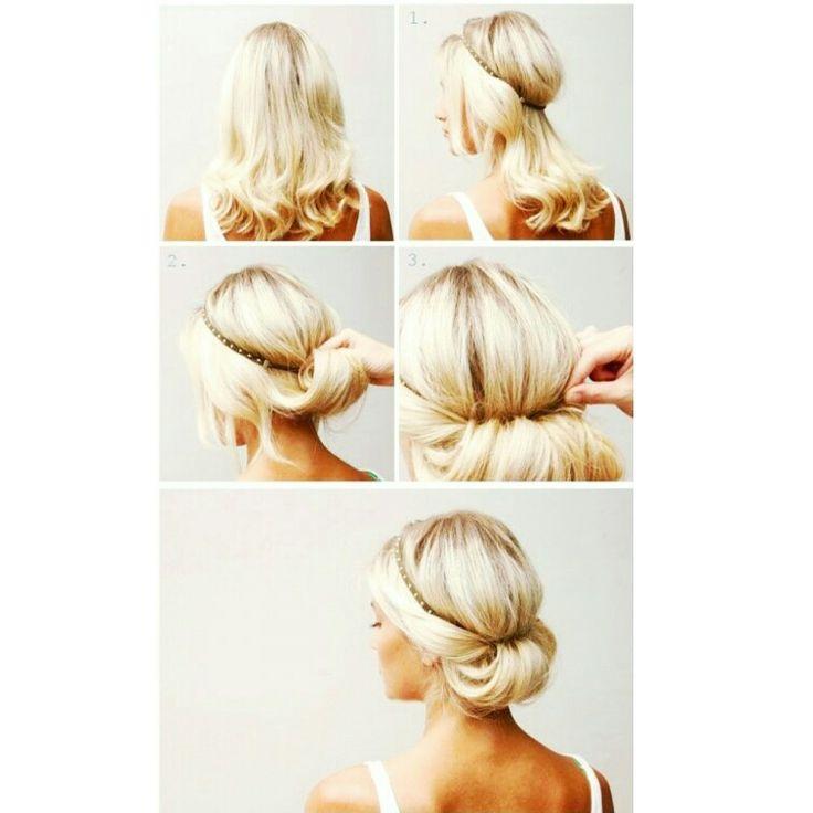Dica do dia: use  headband para  fazer  penteados  fáceis  e estilosos!  Tem dias  que  bate  aquela  preguiça  né  verdade? Então... Os  headband além  de  lindos  podem  te  ajudar  na tarefa  de  criar  penteados rápidos! Você  pode  encontrar lá  na loja: www.minhanovabiju.com.br Crédito:pinterest #dicadaminhanovabiju #penteado  #dicadedepenteado  #headband #headbanddetachinhas #acessoriosfemininos #acessorios #minhanovabiju