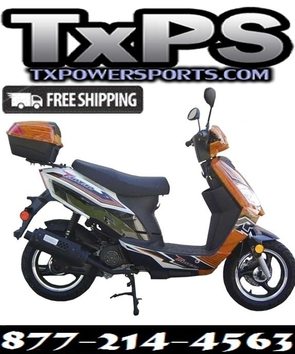 Taotao Thunder 50cc Free Maching Trunk Gas Street Legal Scooter.Free .Shipping.Sale Price: $749.00