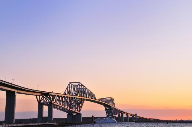 土木構造物写真「東京ゲートブリッジ(東京港臨海道路Ⅱ期事業)」の紹介です。他にもたくさんの土木構造物の写真があります。