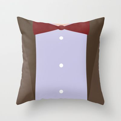 the eleventh 11th doctor doctor who throw pillow - Dr Who Bedroom Ideas