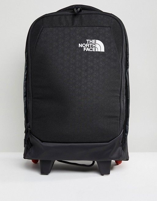 The North Face 29L overhead carry on case. One of the best carry on bags for hand luggage.