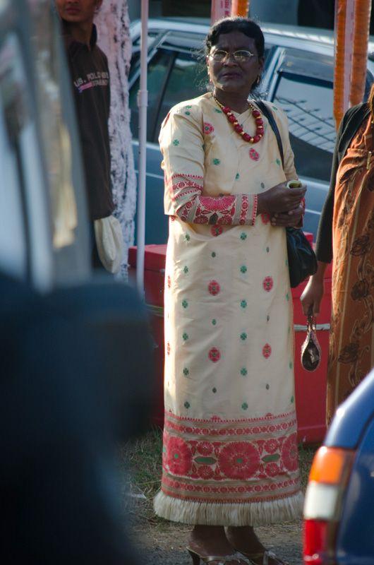 Khasi dress in Shillong, India