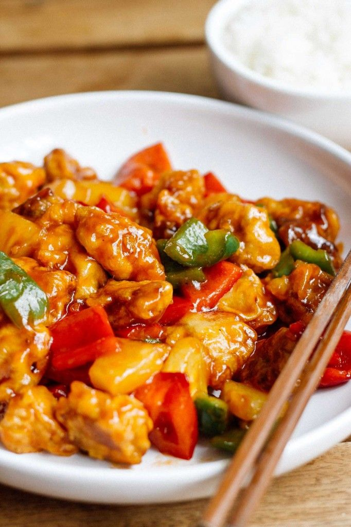 咕老肉 – Sweet and Sour Pork