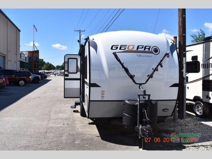 New 2018 Forest River RV Rockwood Geo Pro G19FBS Travel Trailer at Campers Inn | Clarksville, IN | #23973