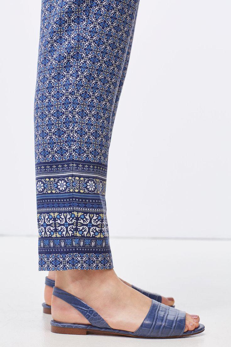 Pantalón lyocell   Pantalones   Cortefiel