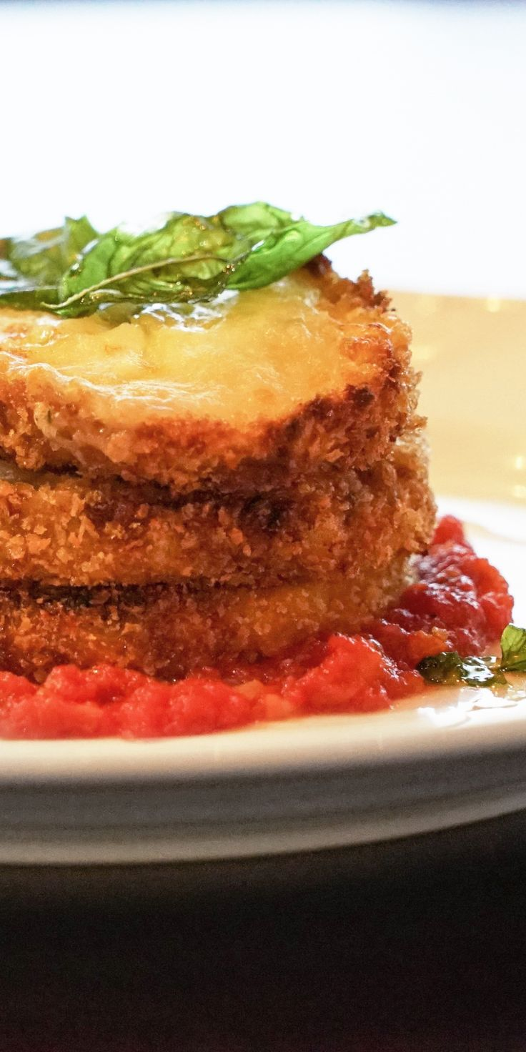 101 best cruise recipes images on pinterest caribbean recipes melanzane alla parmigiana this succulently fried eggplant dish comes on a bed of rich san forumfinder Choice Image