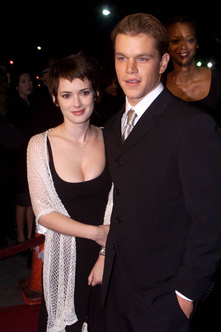 Winona Ryder & Matt Damon: Yes, expect to see a few of the same faces in this roundup, since—haven't you heard?—people in the entertainment industry really like to date each other. And to make the Hollywood world even smaller and weirder, you should know that Gwyneth Paltrow introduced the pair, since she was dating Ben Affleck at the time and he and Matt Damon have been buds for years. (Then Paltrow and Ryder had a falling out, but that's a different story). Anyway, after their meet-cute in…