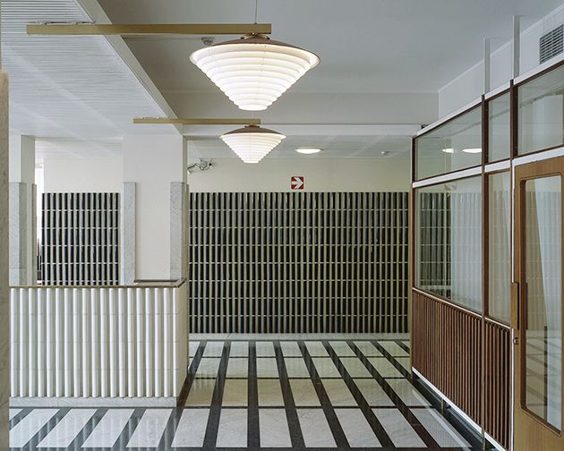 Alvar Aalto | National Pensions Institute, Helsinki; photo by Kim Zwarts for Dutch company Océ