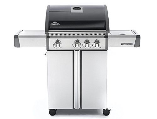 Napoleon Triumph T410sb Freestanding Propane Gas Grill With Side Burner   Gas Barbeque Reviews