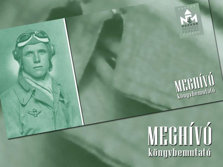 A sárvári Nádasdy Ferenc Múzeum gondozásában jelent meg Czirók Zoltán új könyve Horváth Ernőről, egy sárvári vadászpilótáról a 2. világháborúban. A könyv bemutatójára 2014. október 10-én pénteken 17.30-kor kerül sor.