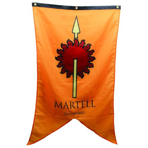 Game of Thrones Martell Sigil Banner - Calhoun Sportswear - Game of Thrones - Flags at Entertainment Earth