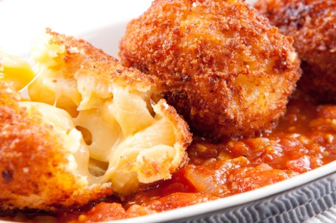 California Pizza Kitchen Macaroni And Cheese Balls Recipe