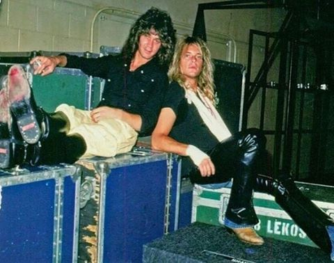 Eddie Van Halen & David Lee Roth