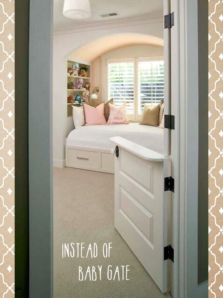 Best 25 baby gates stairs ideas on pinterest farmhouse for Half door ideas