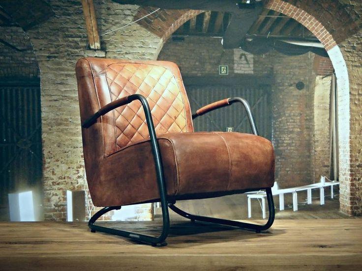 25 beste idee n over industri le stoel op pinterest industri le tafel industri le chique - Zeer comfortabele fauteuil ...