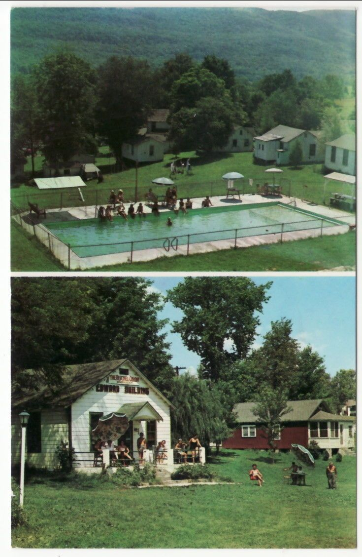 The Reichel Bungalow Colony And Pool Ellenville Ny Early