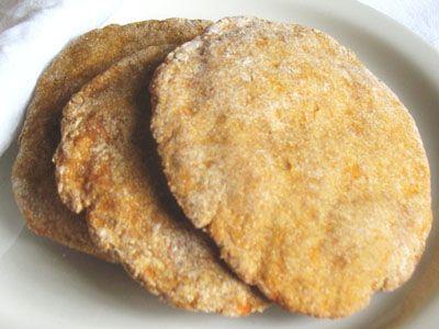Whole Wheat Sweet Potato Flatbreads