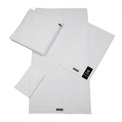 #beds #bedlinen Ross Uni-Rippe Handtücher Smart weiß Duschtuch 70x140 cm: Reines Weiß, das gerippte Material aus… #mattresses #pillows