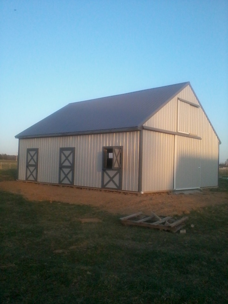 Cheap Pole Barn Horse The Ann Masly Building Dimensions 30Wx36